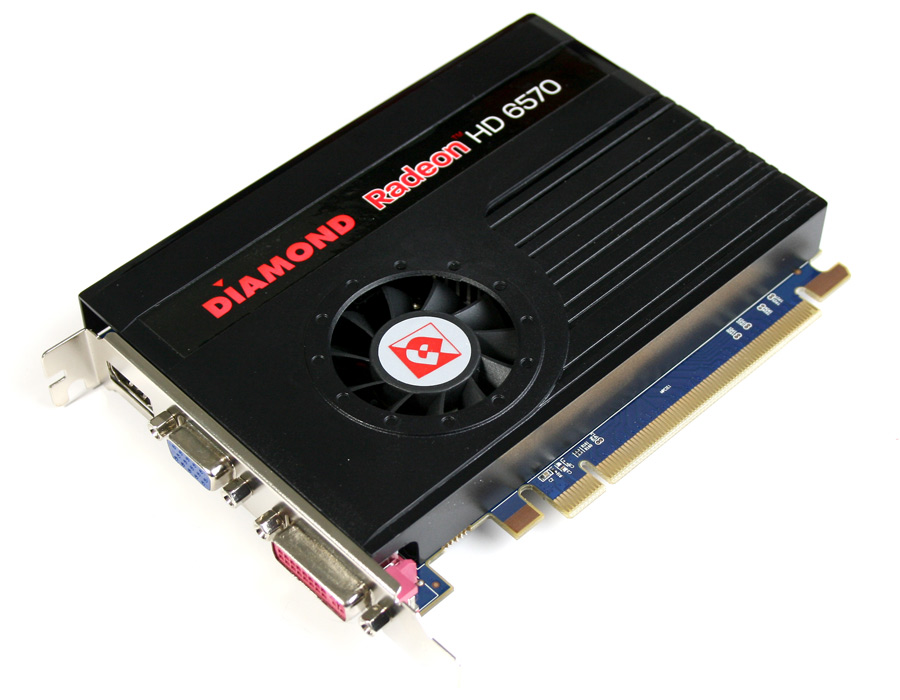 6570pe31g Diamond Amd Radeon Hd 6570 Pcie 1gb Gddr3