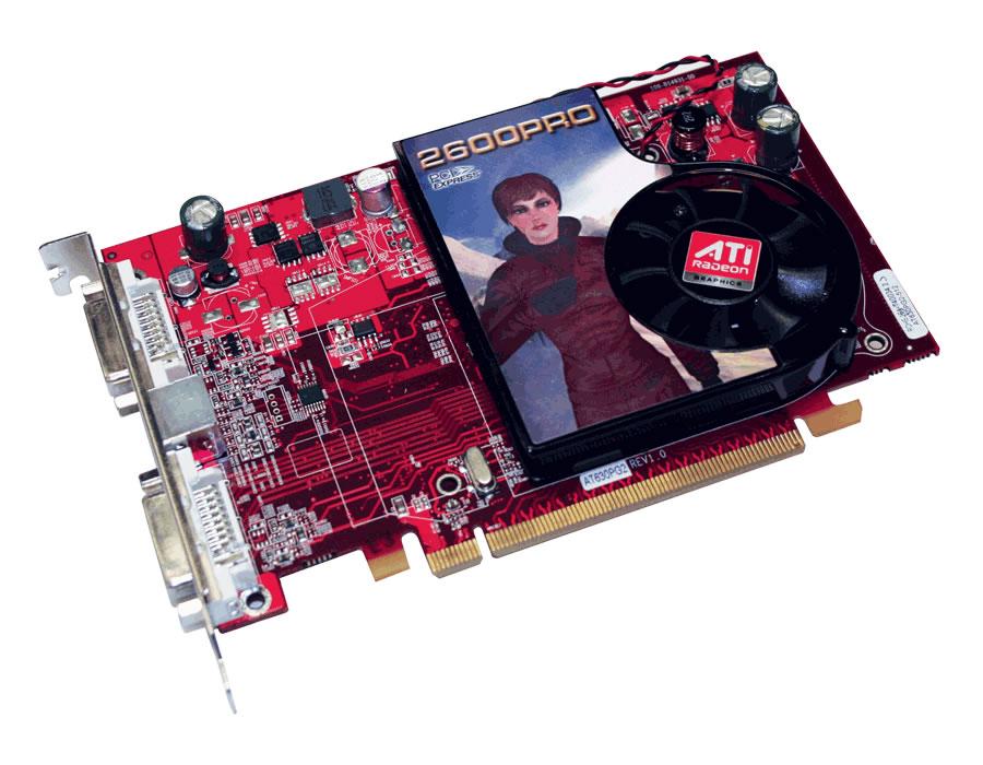 Скачать драйвер на видеокарту hd2600pro