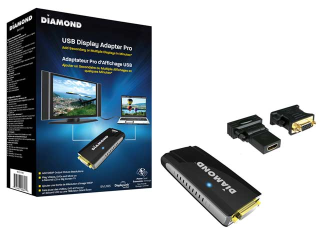 DIAMOND BVU1000 Display Adapter Update