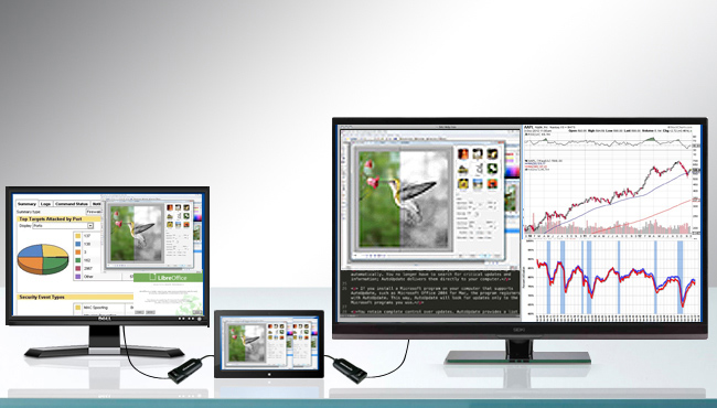 Is Multi-Tasking a Nightmare? – It Doesn't Have to Be with the Diamond BVU3500 Multiple Display Adapter