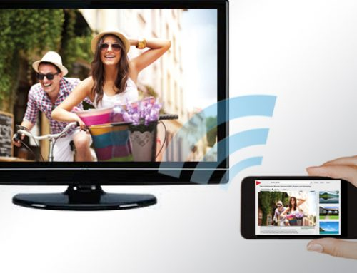 Streaming to a Large Screen TV – Wireless Equals Time Saved