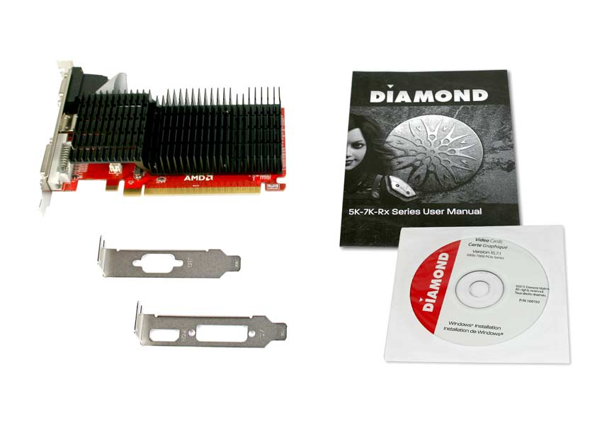 DIAMOND ATI AMD Radeon™ HD 5450 PCI Express GDDR3 1GB Video Graphics Card  (5450PE31G)