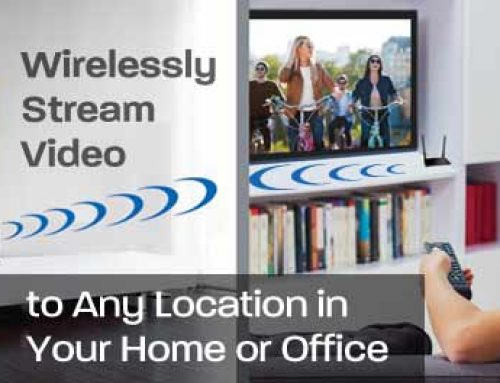 Wirelessly Stream Video to Any Location in Your Home or Office with the Diamond V-Stream – VS200VR HDMI Wireless AV Video Sender/ Receiver