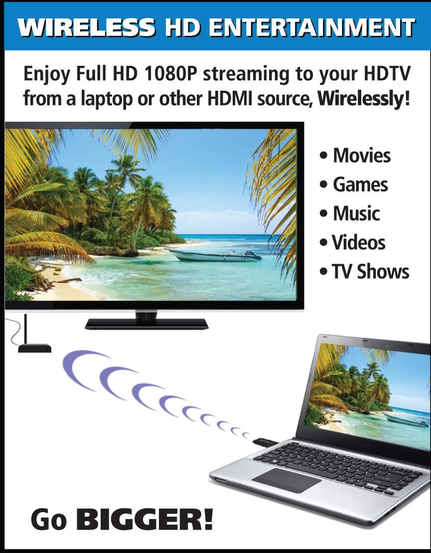 The Diamond VS100 - Wireless HD Video Transmission via HDMI