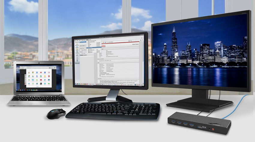 Adding Extra Monitors to your ChromeBook