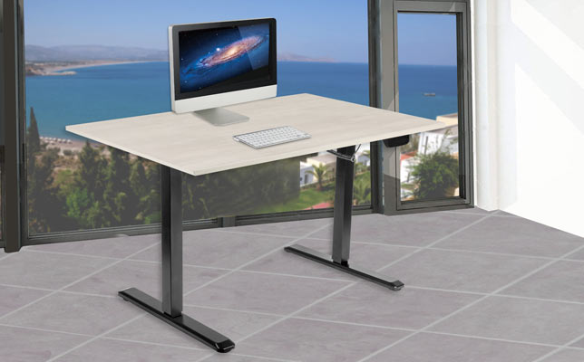 Sit and stand desk banner