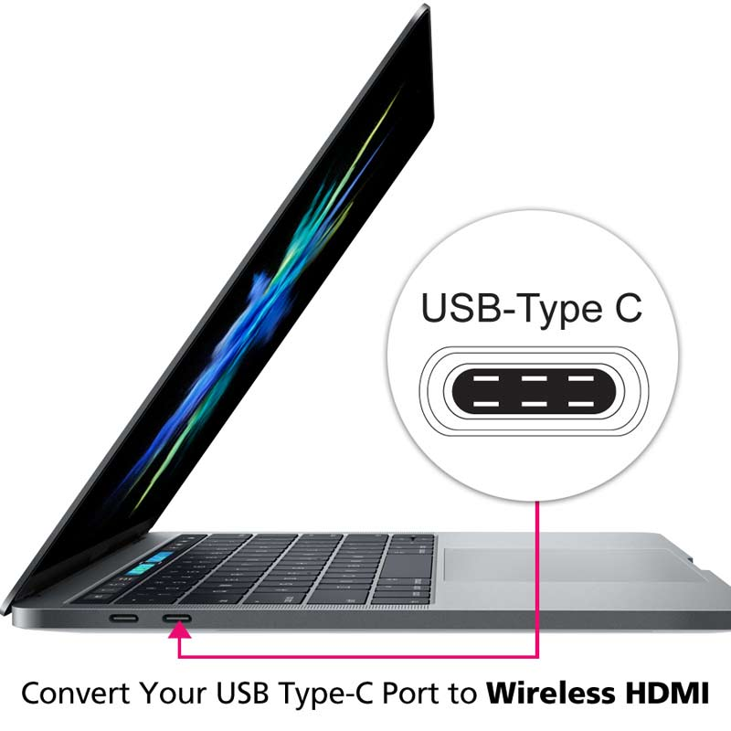 wireless usb type c to hdmi extender kit pc to tv vs75 diamond wireless usb type c to hdmi extender kit pc to tv transmitter receiver for hd 1080p pc to tv projector streaming for home entertainment