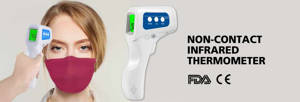 The NEW Digital Non-Contact Infrared Body Thermometer