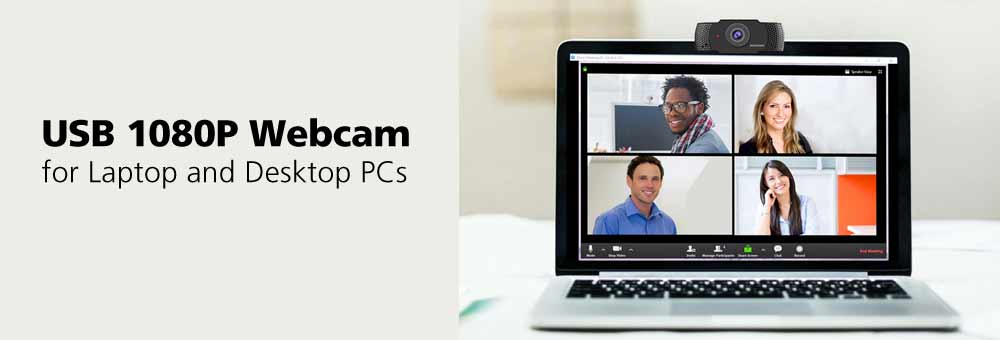 Introducing the All-New USB 1080P Webcam from Diamond