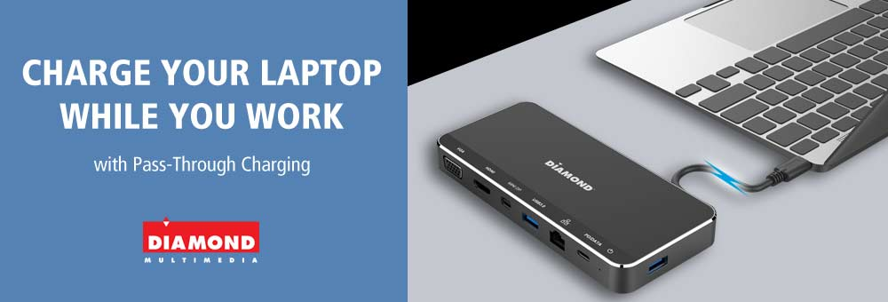 Charging Your Laptop While You Work with an MST Docking Station